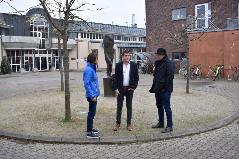 De drie schepenen zijn trots op het aanbod dat hun diensten uitwerkten voor de Houtemse jeugd.