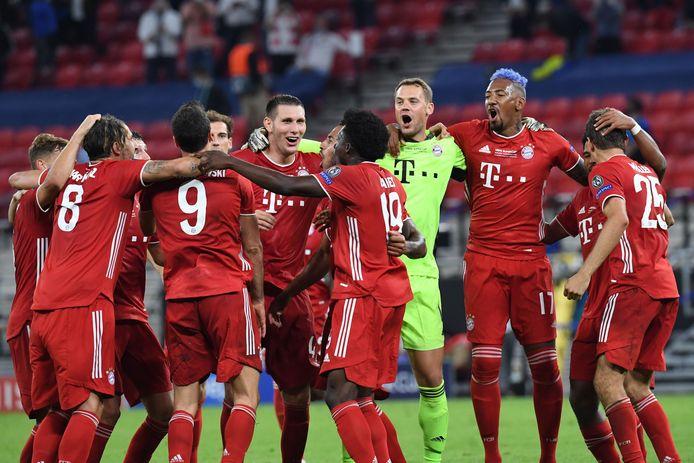 Feest bij Bayern.