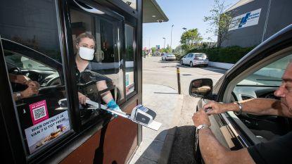 Heropening van drive-in McDonald's in Hasselt verloopt vlot