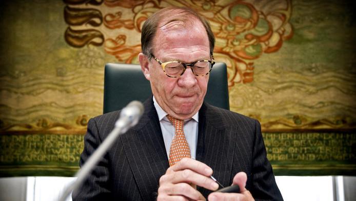 De Noord-Hollandse commissaris van de Koningin Harry Borghouts in 2009.