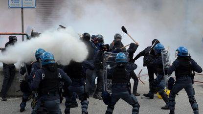 Protest tegen mogelijke sluiting Brennerpas mondt uit in rellen