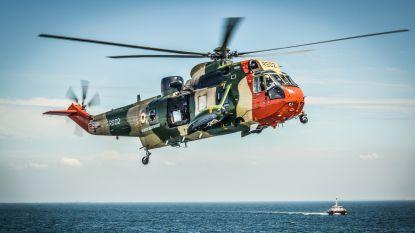 Sea King voor een keer zélf gered