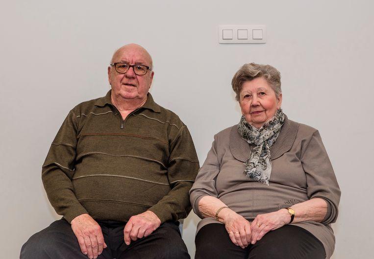 Michel en Marcelle vieren hun zestigste huwelijksverjaardag.