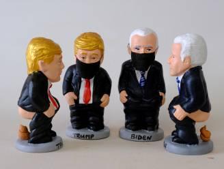 Trump en Biden met de billen bloot in Catalaanse kersttraditie