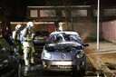 Eerder deze maand ging aan de Adenauerlaan in de Utrechtse wijk Kanaleneiland ook al een auto in vlammen op.