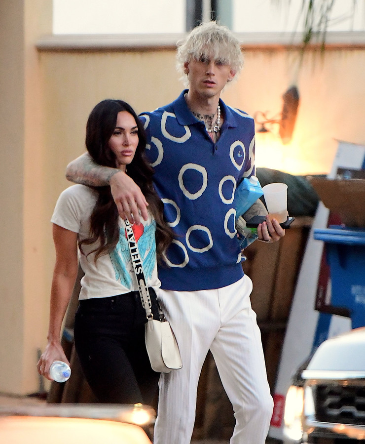 Megan Fox et Machine Gun Kelly