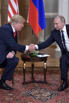 Amerikanen geschokt door 'verraad' Trump in gesprek met Poetin
