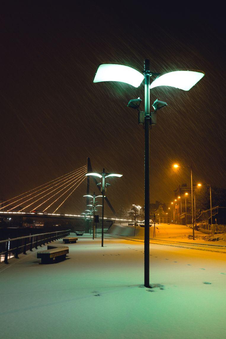Kortrijk Weide, ter hoogte van de Noordbrug.