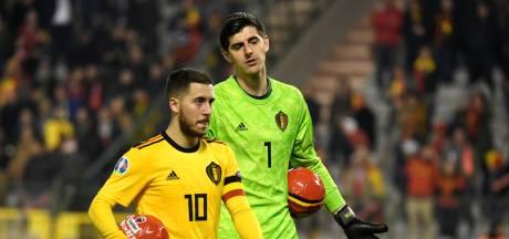 Eden Hazard et Thibaut Courtois avec les Diables au Qatar malgré leur blessure?