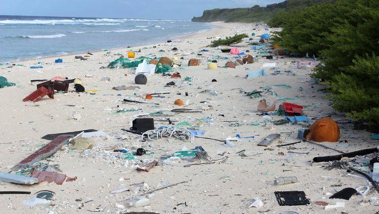 Het merendeel van het puin - ongeveer 68% - was niet eens zichtbaar en ligt begraven onder het zand.
