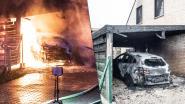 Bewakingscamera filmt hoe buurvrouw huis van gezin met twee kinderen in brand steekt. Daarna kijkt ze samen met andere buren naar de brand