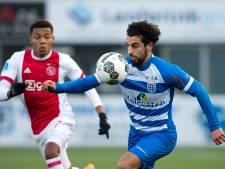 Machteloos PEC Zwolle buigt het hoofd voor veel te sterk Ajax