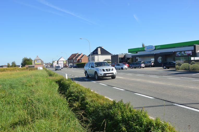 Een deel van de Brakelsesteenweg zou worden heraangelegd.