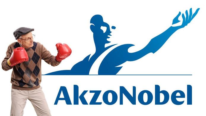 Het gevecht om een goed pensioen bij Akzo Nobel, zoals het wordt uitgebeeld in de nieuwsbrief van de  Koninklijke Nederlandse Verenigingen van Gepensioneerden KNVG.