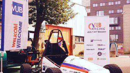 VUB-studenten stellen zelfgebouwde elektrische racewagens voor