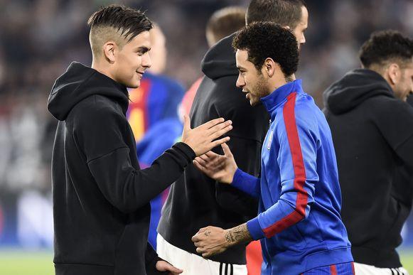 Dybala en Neymar.
