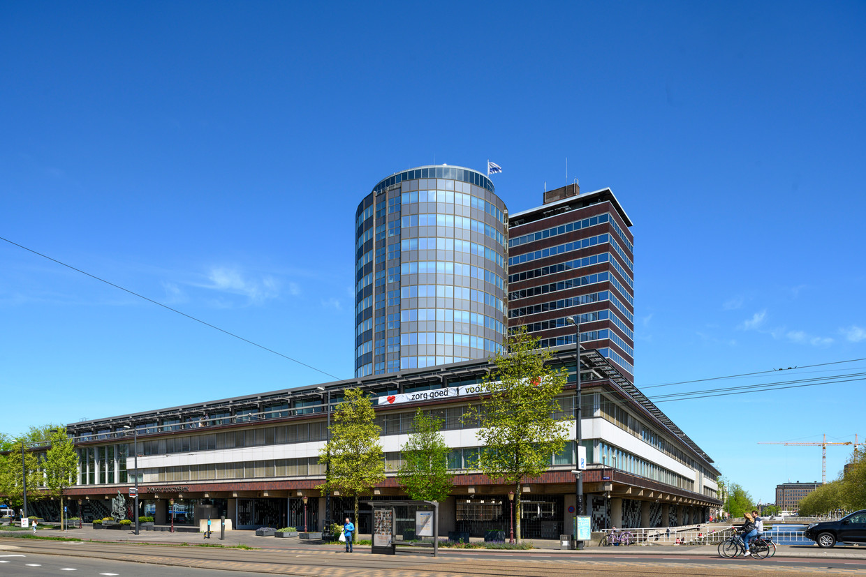 Hoofdkantoor van De Nederlandse Bank aan het Westeinde 1 te Amsterdam.  Beeld Hollandse Hoogte / Co de Kruijf