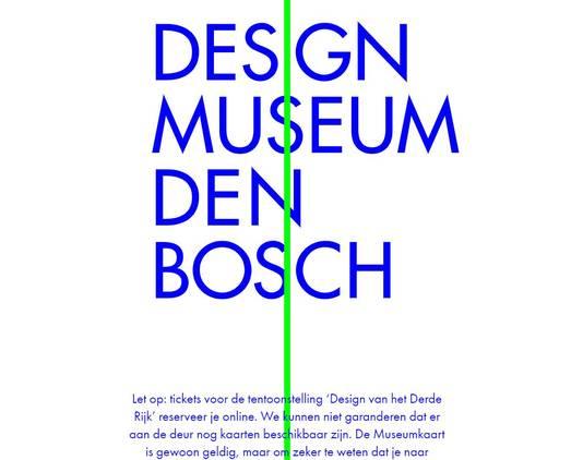 De tekst op de website van het museum.