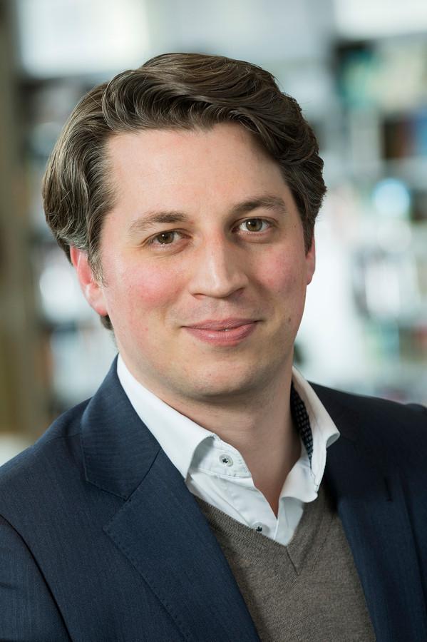 Fractievoorzitter Jorrit Linders van de VVD Utrechtse Heuvelrug.
