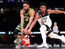 Mondial de basket: défaite historique pour les Américains en Australie à une semaine du Mondial
