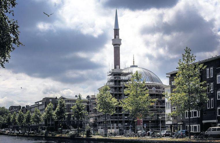 De Westermoskee in Amsterdam wordt volgend jaar geopend. Beeld anp