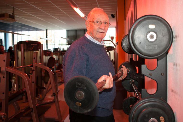 Wim Freyssen is 90 jaar, maar trekt nog drie keer per week naar de fitness.