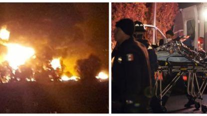 Pijpleiding in Mexico explodeert terwijl mensen jerrycans vullen aan lek: al zeker 66 doden