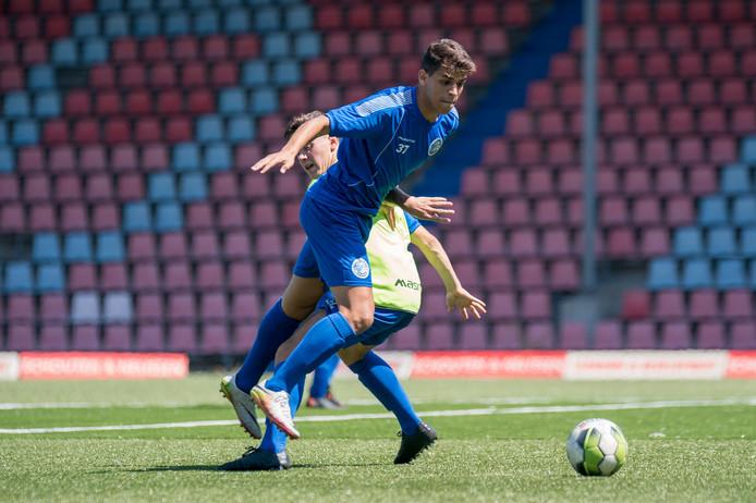 Saad Laazizi in dienst van FC Den Bosch.   Roy Lazet