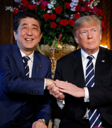 Japanse premier zwijgt over nominatie Trump voor Nobelprijs