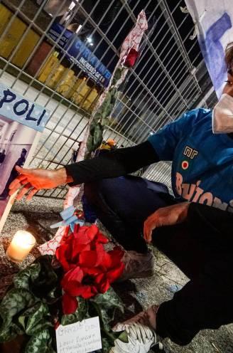 Napels ontroostbaar na verlies van hun God: hoe Maradona een mythe werd in Zuid-Italië