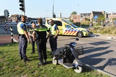 'In verkeer moet je ouderen op scootmobiel net zo behandelen als een klein kind op de fiets'