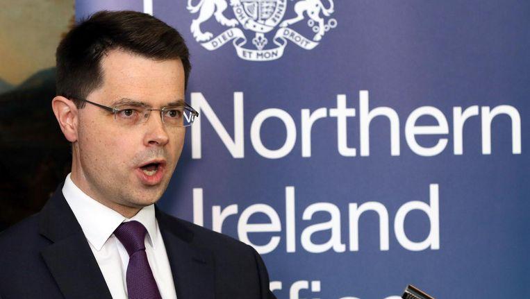Minister Minister James Brokenshire van Noord-Ierland. Beeld AFP