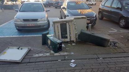 Parkeermeter in de prak gereden