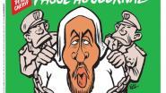 """""""Passeer eens als je 5 minuten tijd hebt"""": Charlie Hebdo viert arrestatie van brein achter aanslag met cartoon op voorpagina"""