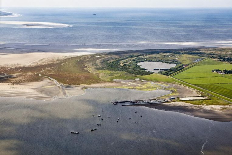 Het eiland Schiermonnikoog in de Waddenzee. Beeld Hollandse Hoogte