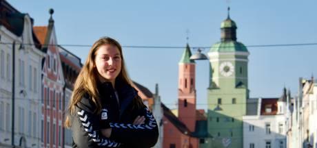Nijmeegse volleybalster Iris Scholten verruilt ene Beierse club voor de andere