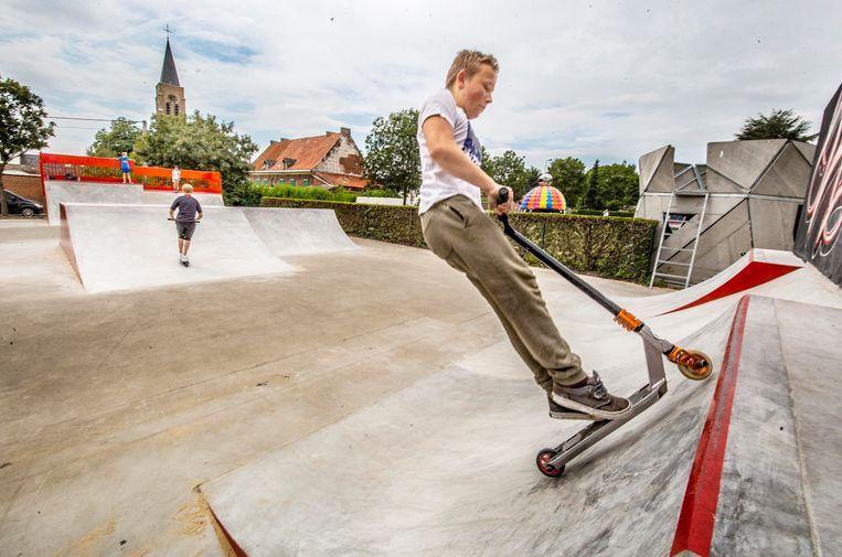 Een gloednieuw skatepark voor Kooigem