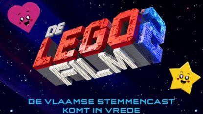 Dit wordt de Vlaamse cast van 'The Lego Movie 2'