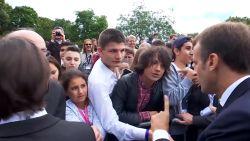 "Emmanuel Macron spelt tiener de les: ""Noem me 'meneer de president'"""