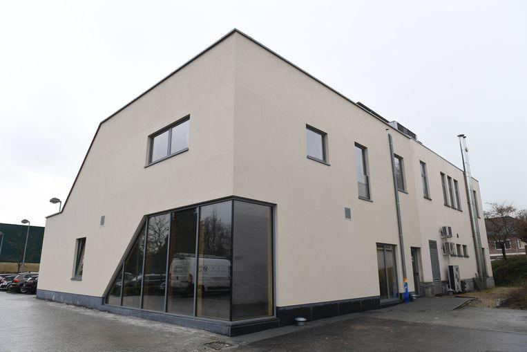 Het nieuwe OCMW-gebouw van Lubbeek heeft een moderne look.
