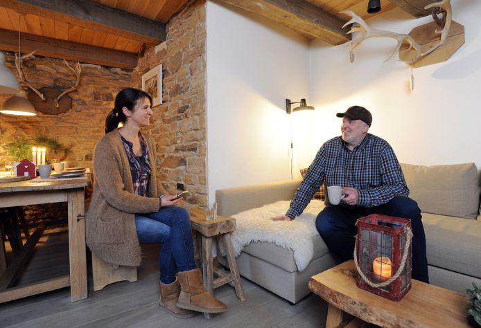 Katleen Baeyens en Steven De Boulle waren meteen verkocht toe ze het huisje spotten.