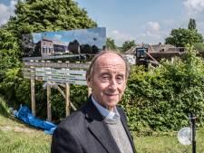 Heuglijke dag voor Wim Reijnen uit Ooij, zijn huis wordt na de brand eindelijk herbouwd