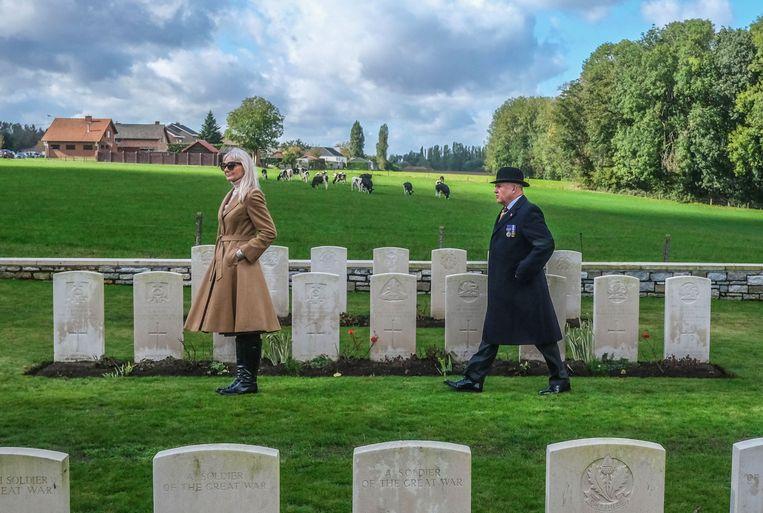 Bezoekers uit Groot-Brittannië.