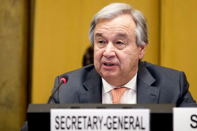 Antonio Guterres, de secretaris-generaal van de Verenigde Naties, heeft de vechtende partijen in Syrië opgeroepen om doorgang te verlenen aan de hulpkonvooien in de belegerde regio Oost-Ghouta.