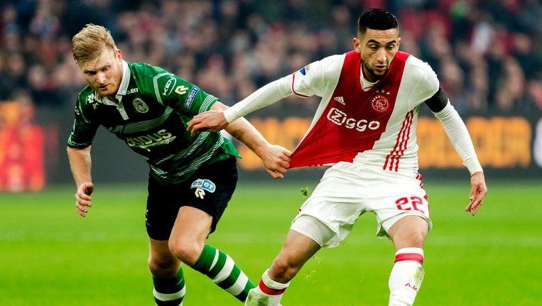 Ajax weet wat het heeft aan Ziyech, Klaassen, Sánchez of Dolberg Beeld anp