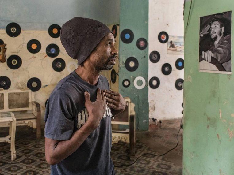 Foto uit het werk Cuba la lucha. Beeld Carl De Keyzer