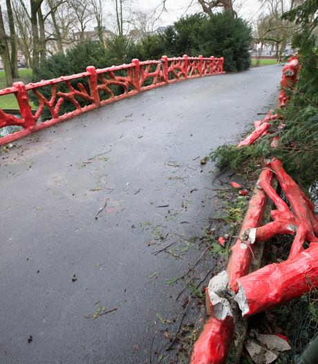 Rode brug Valkenberg blijft voorlopig dicht