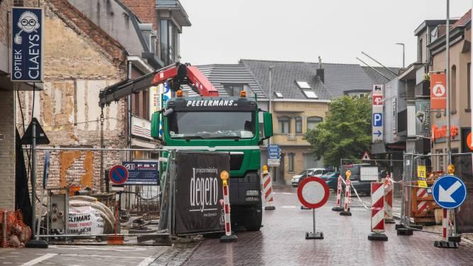 Kerkstraat weer twee dagen afgesloten voor verkeer