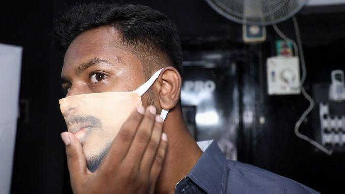 """Fotostudio maakt gepersonaliseerde mondmaskers: """"Dit wordt een trend"""""""