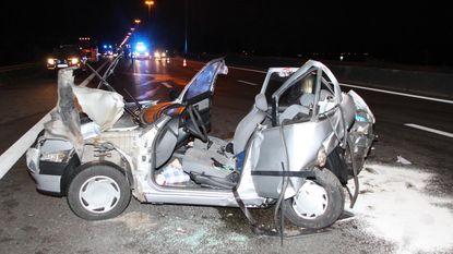 Fransen zonder rijbewijs op de vlucht na ongeval op E17
